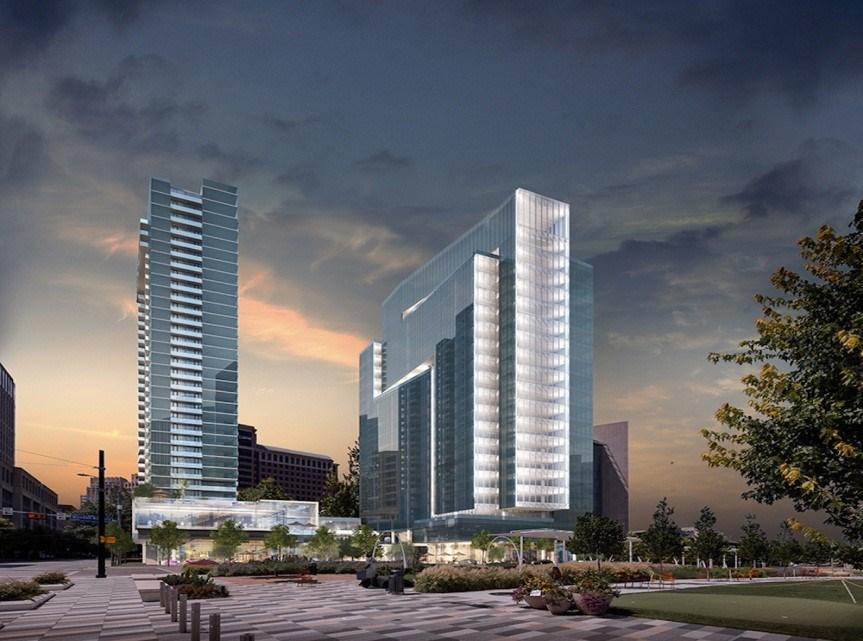 Image rendering courtesy of HKS Architects