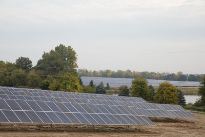 DTE's new solar arrays in Lapeer, MI will be part of this program when they are commissioned this spring.  With nearly 200,000 panels, the solar installation is the largest in Michigan.