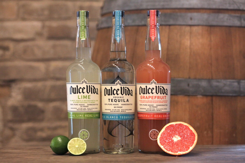 Dulce Vida Lime, Blanco and Grapefruit Tequila