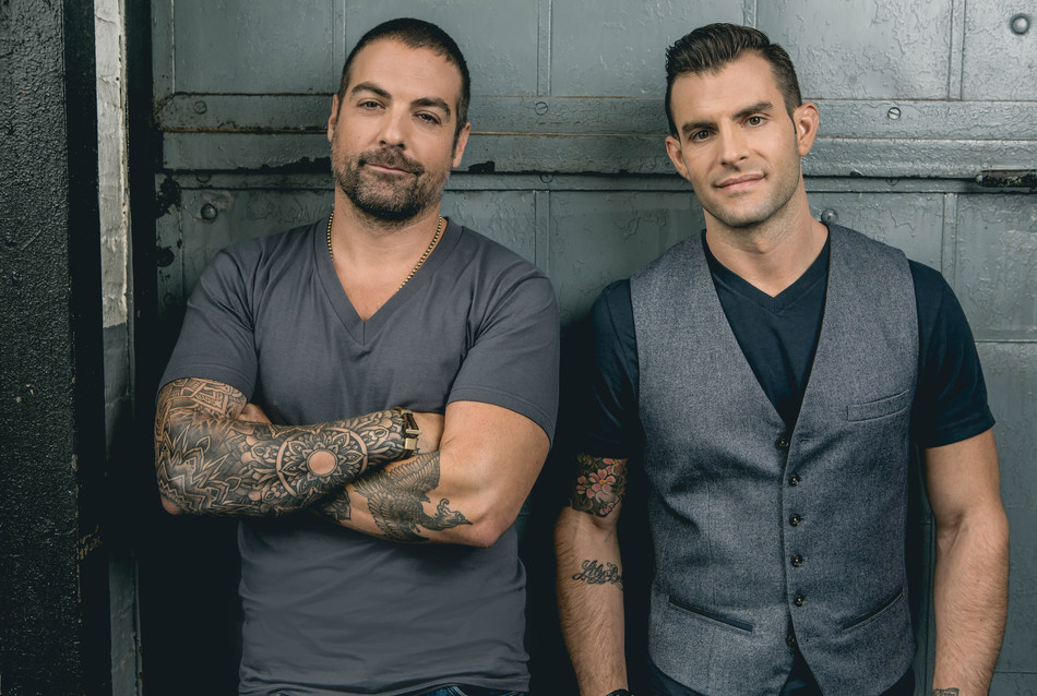 HGTV's Cousins Anthony Carrino and John Colaneri, make a South Florida debut at the Fort Lauderdale Home Design and Remodeling Show, May 26-29, 2017 (Memorial Day Weekend.) Courtesy Photo | Anthony Carrino and John Colaneri