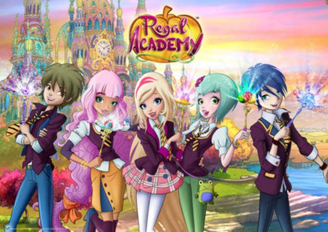 Regal Academy Returns to Nickelodeon (CNW Group/The Alpha Group US LLC)