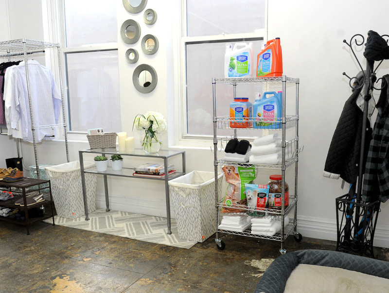 Amanda Gluck, the Fashionable Hostess, curates and styles BJ's Wholesale Club's Housewarming Event, Thursday, Feb. 2, 2017, in New York. The retailer teamed up with Gluck to transform an open loft into a staged apartment, using products found at BJ's and BJ's exclusive brands, Berkley Jensen and Wellsley Farms. (Photo by Diane Bondareff/Invision for BJ's Wholesale Club/AP Images)