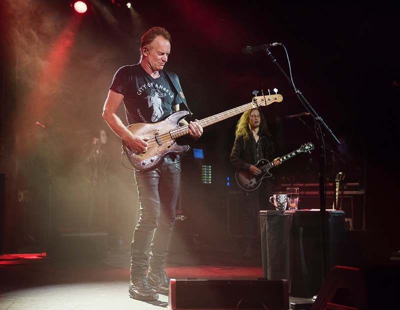 """STING LAUNCHES 57TH & 9TH WORLD TOUR TO RAVE REVIEWS, HERALDED AS THE """"SHOW OF A LIFETIME"""" Photo Credit: Rebecca Blissett"""