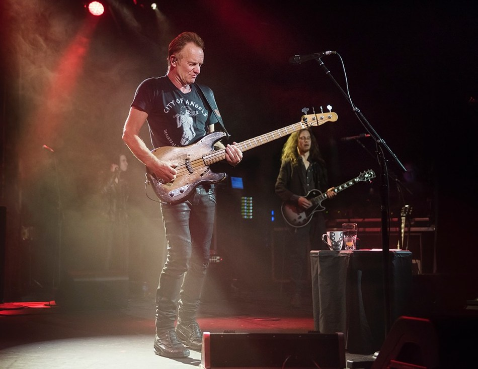 "STING LAUNCHES 57TH & 9TH WORLD TOUR TO RAVE REVIEWS, HERALDED AS THE ""SHOW OF A LIFETIME"" Photo Credit: Rebecca Blissett"