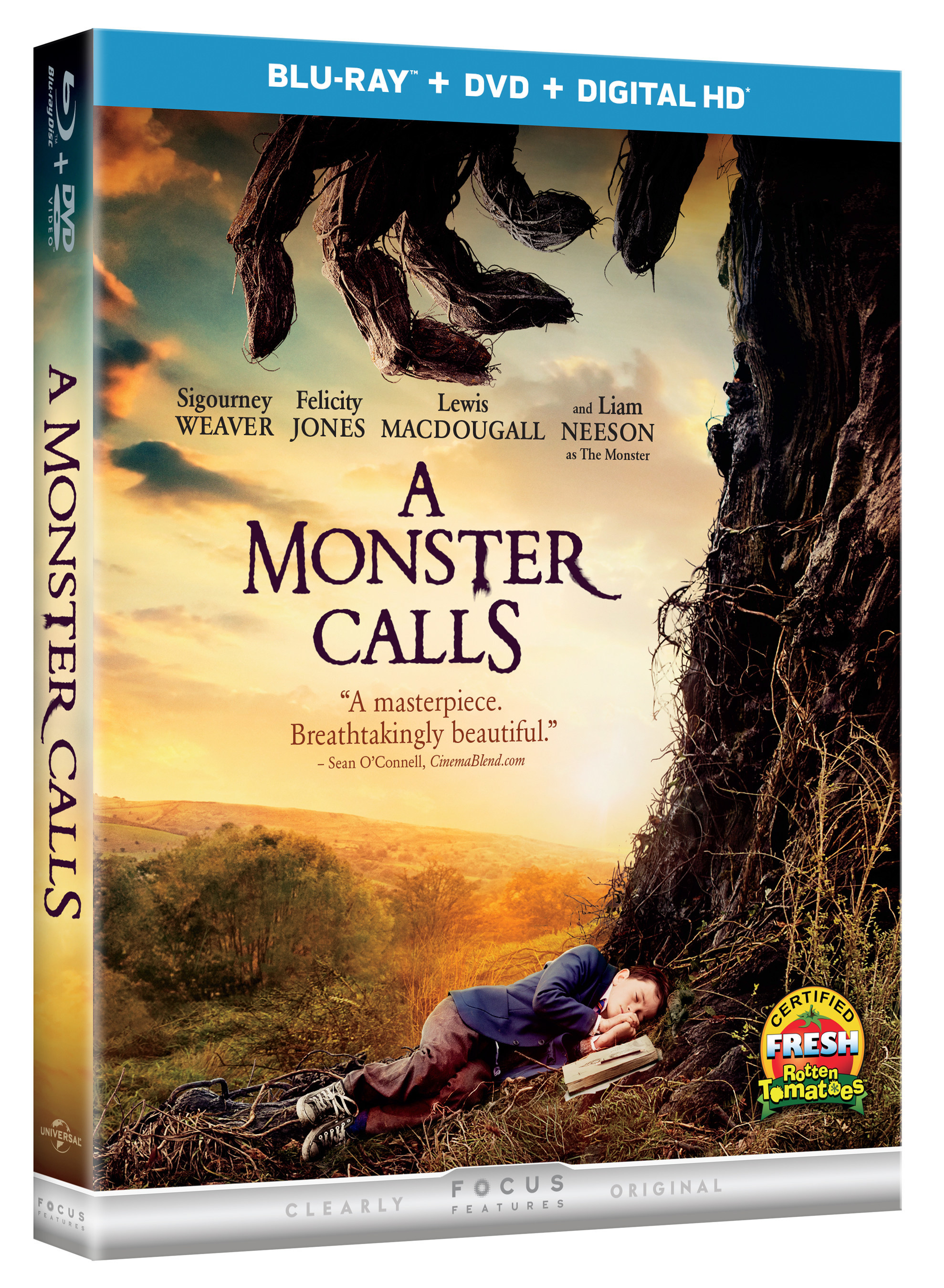 From Universal Pictures Home Entertainment A Monster Calls