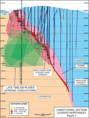 Figure 1 – Rice Island Deposit (CNW Group/Wolfden Resources Corporation)