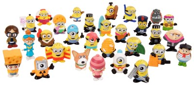 Solidifying its position as the world's number one manufacturer of collectible toys, Moose Toys teams with Illumination and Universal Brand Development to launch Mineez, an all-new line of collectibles featuring characters spanning the entire Despicable Me universe.