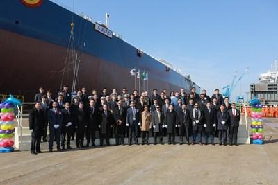 Bahri adds 37th VLCC 'AMJAD' to its multipurpose fleet of 84 vessels (PRNewsFoto/Bahri)