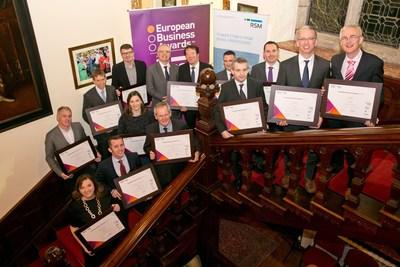 Irish National Champions (PRNewsFoto/European Business Awards)