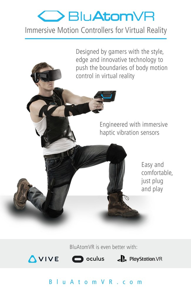 First immersive wireless VR body motion-tracking system