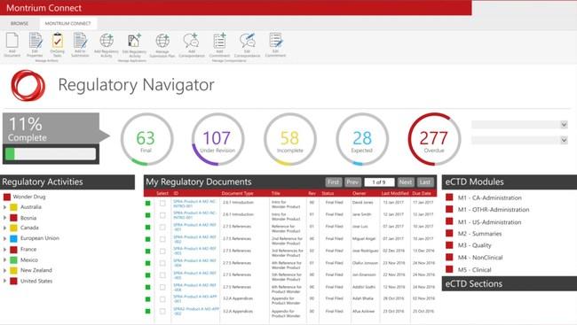 Regulatory Navigator Screenshot