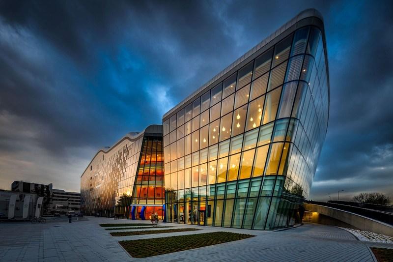 The best congress centre of the New Europe - ICE Krakow, fot. W. Wandzel for KBF (PRNewsFoto/ICE Krakow Congress Centre)