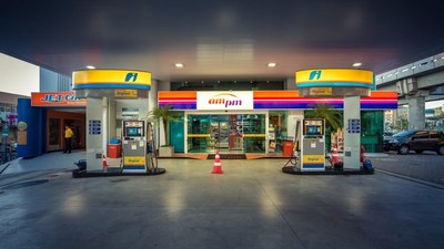 Ipiranga gas station and convenience store in Brazil.