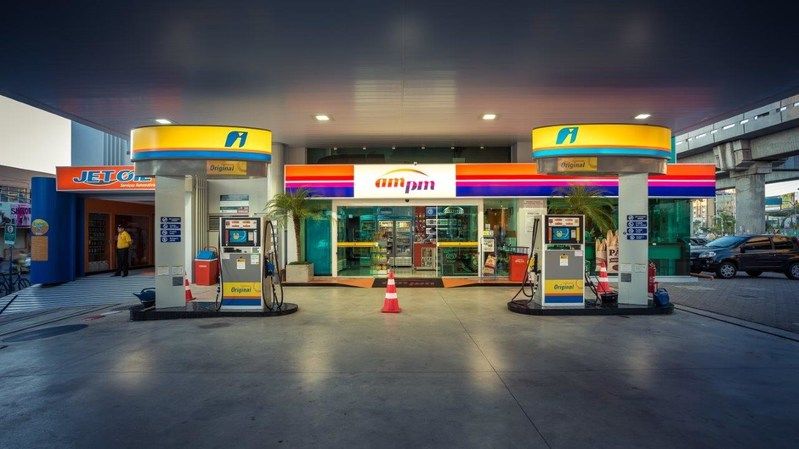 Ipiranga gas station and convenience store in Brazil. (PRNewsFoto/InComm)
