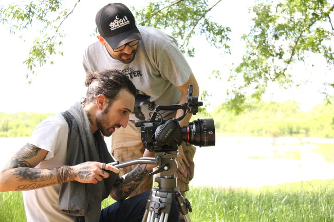 Director, Seth Breedlove and Cinematographer, Zac Palmisano