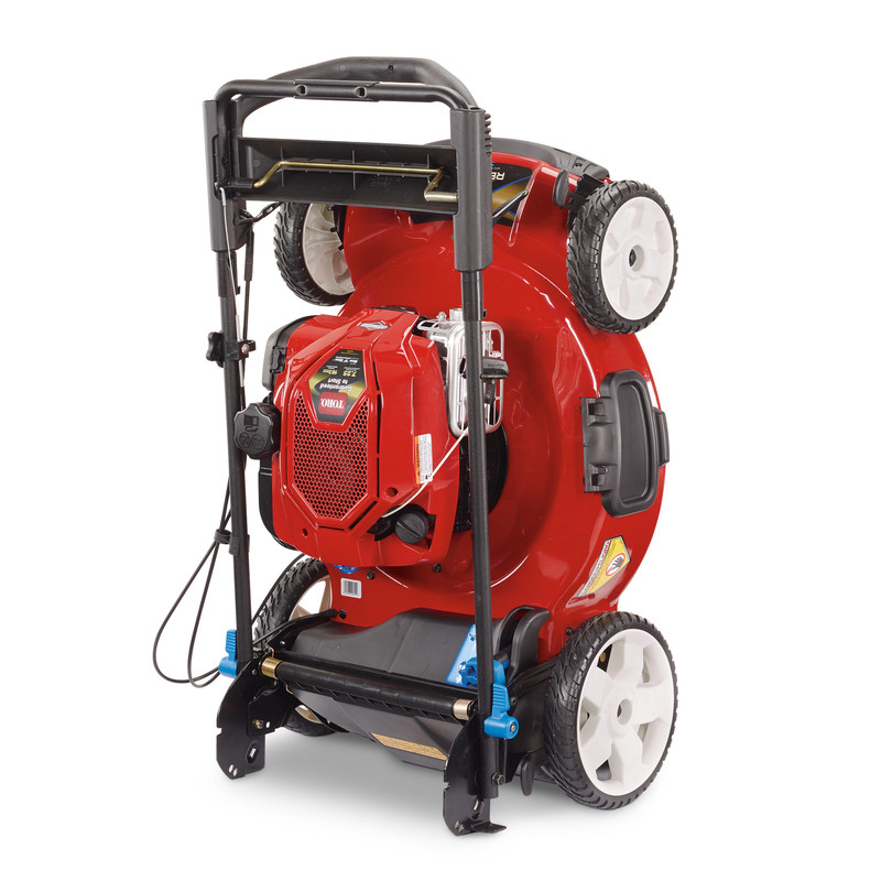 Briggs & Stratton Corporation has answered the call from homeowners for a better lawn mower engine with its new Mow N' Stow engine featuring Just Check & Add technology.