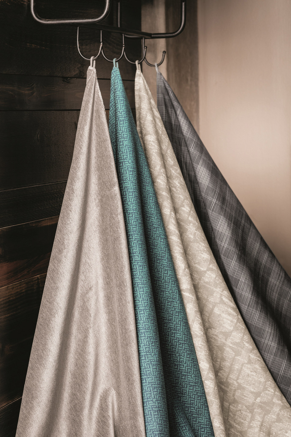 Suit Yourself. A stylish collection of upholstery and drapery fabrics that are a cut above.