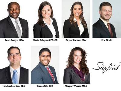 Siegfried Welcomes New Team Leaders in Many of its National Markets; Seven Professionals Accept Enhanced Leadership Role