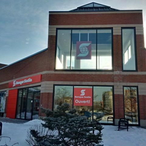 Scotiabank proudly opened the doors of a new retail branch on Ile des Soeurs in Montreal. (CNW Group/Scotiabank)