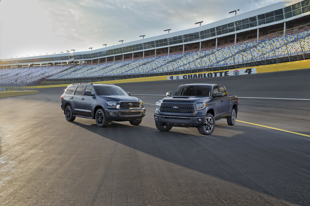 Roughing it in style toyota introduces the new 2018 tundra and sequoia trd sport and rav4