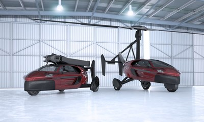 The first flying car company to start selling its commercial models. Following the successful test programs of their concept vehicles in 2009 and 2012, PAL-V started the design of the commercial products. PAL-V deliberately chose to engineer, design and build a flying car with proven technologies and fully compliant with existing regulations.Flying car manufacturer PAL-V has officially started the sales of its commercial models, the Liberty Pioneer and Liberty Sport. The first commercial flying car in the world is now a fact. (PRNewsFoto/PAL-V International B.V.)
