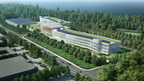 ENGLEWOOD CLIFFS, N.J. Feb. 7, 2017 - Rendering of the new 350,000-square-foot LG North American Headquarters.  The $300 million building project , which began today with a groundbreaking ceremony in Englewood Cliffs, N.J., will create more than 2,000 construction jobs.