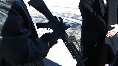 Shooter 1 and 2 from Gunpowder Detector Mass Shooting Video