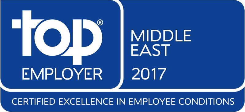 Top Employer Middle East logo (PRNewsFoto/JTI)