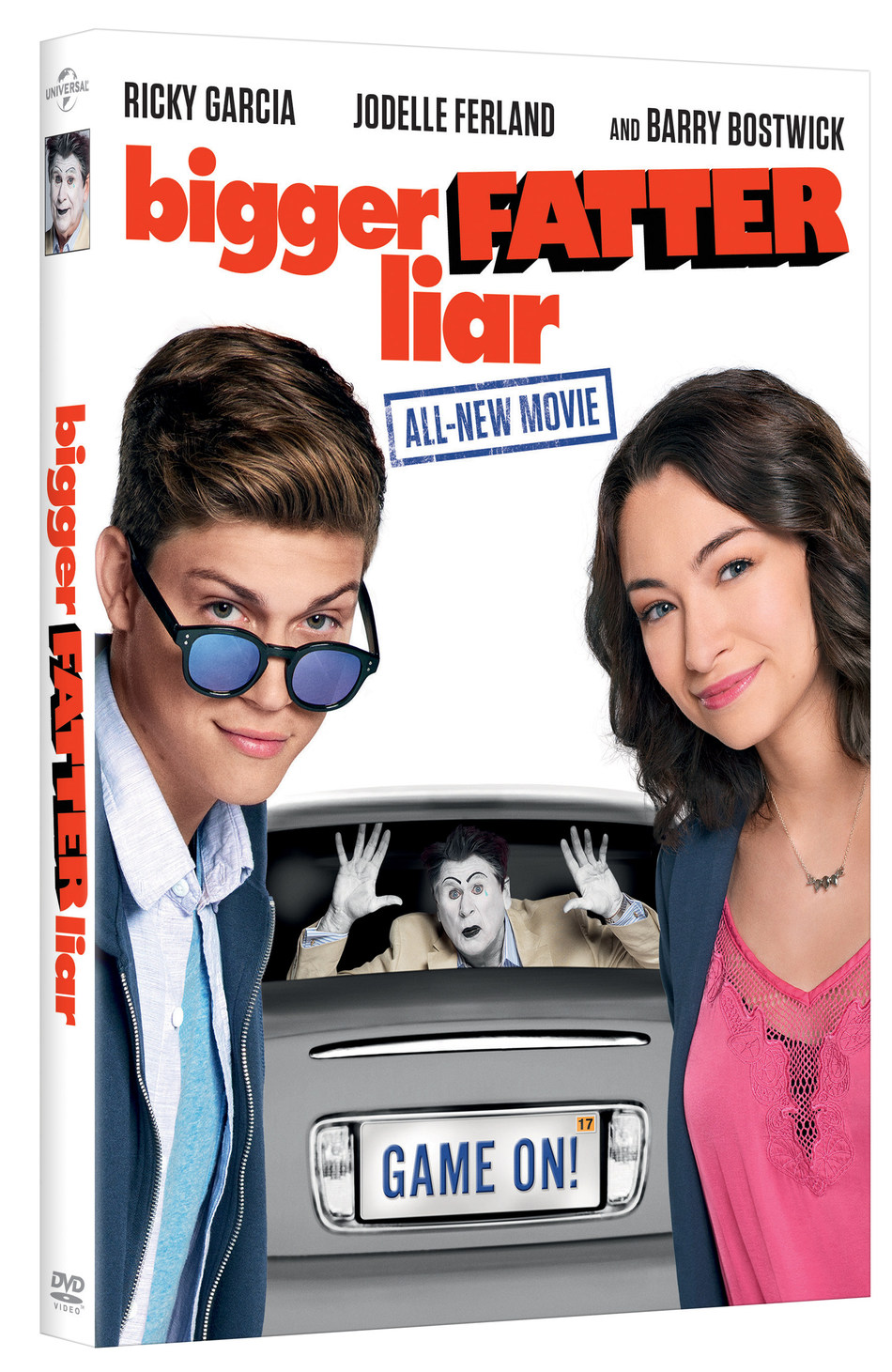 From Universal Pictures Home Entertainment: Bigger Fatter Liar