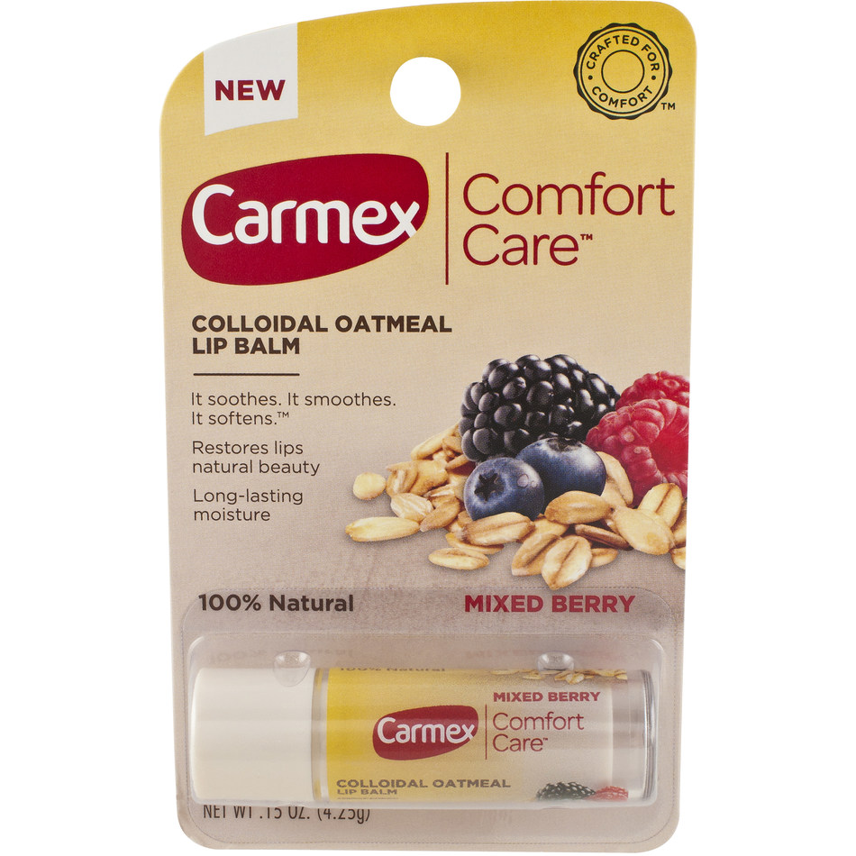 Carmex Comfort Care Lip Balm in Mixed Berrry