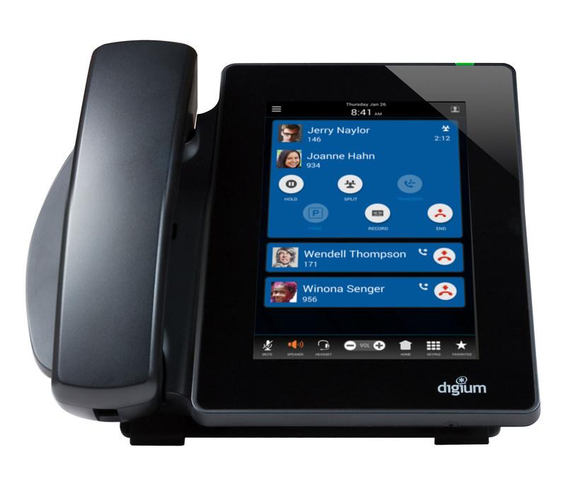 Telefono IP Digium D80