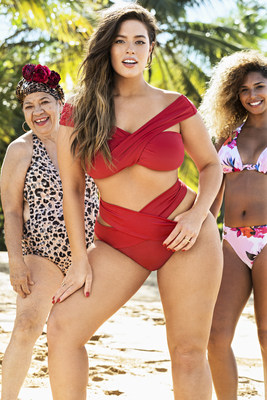 Ashley Graham x Swimsuits For All Courtesy of Swimsuits For All / Ben Watts