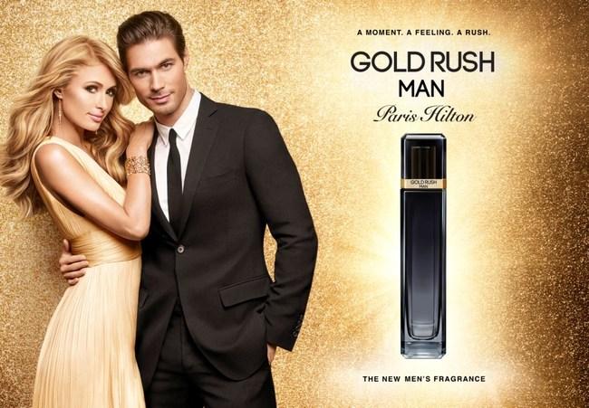 GOLD RUSH MAN Paris Hilton