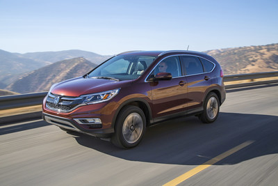 "Honda CR-V, HR-V and Fit Receive ""2017 Best Cars for the Money"" Award from U.S. News & World Report"