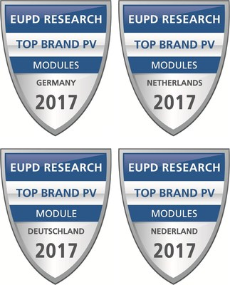 "Wuxi Suntech Awarded ""Top Brand PV"" Seal from EuPD Research"