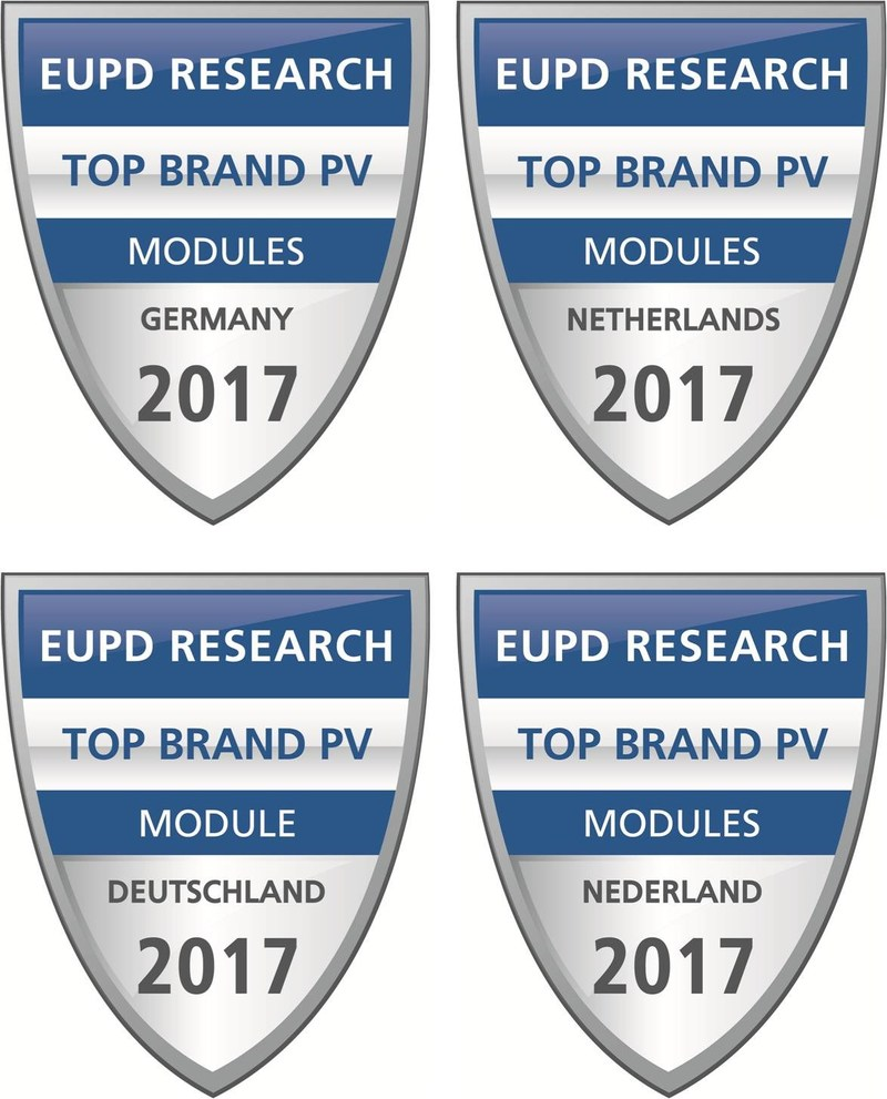 """Wuxi Suntech Awarded """"Top Brand PV"""" Seal from EuPD Research"""