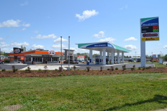 Example of an A&W Drive Thru Convenience Restaurant (CNW Group/A&W Food Services of Canada Inc.)