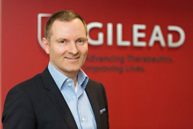 Kennet Brysting nommé directeur général, Gilead Canada (Groupe CNW/Gilead Sciences, Inc.)