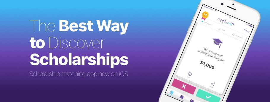 Apply.me, a new app on the block, is the savvy way to search and apply for scholarships on the go