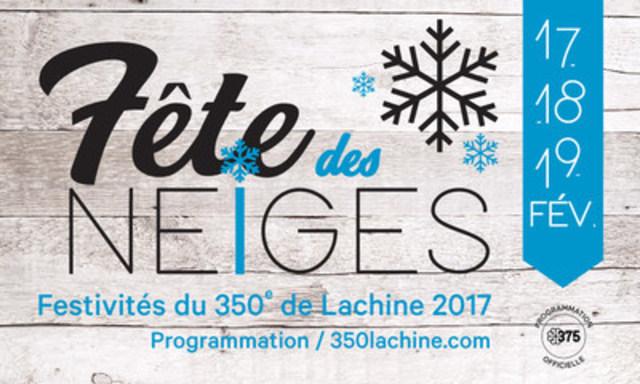 Dans le cadre des festivités du 350e anniversaire de Lachine (Groupe CNW/Ville de Montréal - Arrondissement de Lachine)