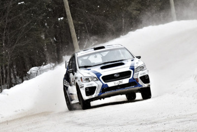 2017 Rallye Perce-Neige (CNW Group/Subaru Canada Inc.)