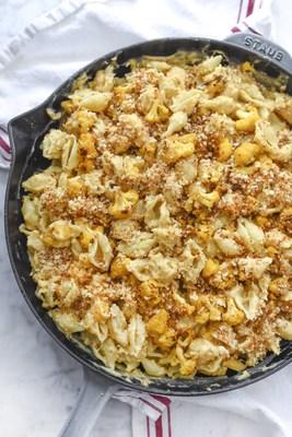 Cache Valley Cauliflower Mac and Cheese by FoodieCrush (PRNewsFoto/Cache Valley(R) Creamery)