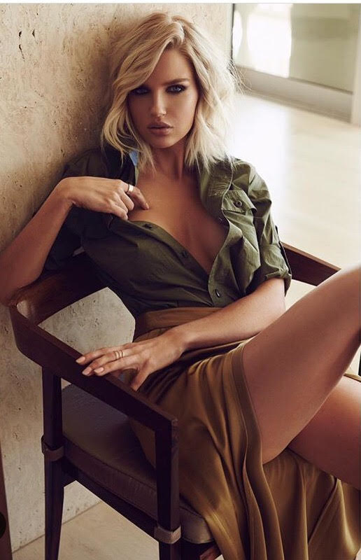Featuring Guess campaign model, Rachel Mortenson