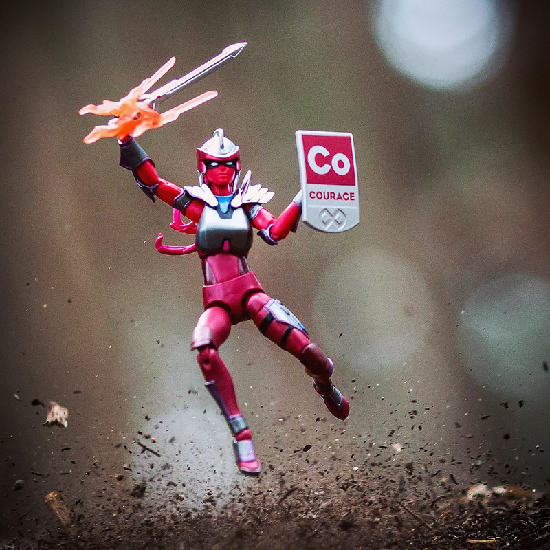 Toy of the Year Finalist IAmElemental brings its award-winning female action figures, including the 6.5-inch Courage Core Power figure, to Booth #5207 at Toy Fair 2017.  Photo: Mitchel Wu Photography, https://www.instagram.com/mitchelwuphotography/
