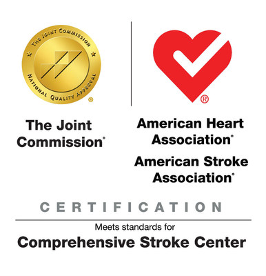 MemorialCare Neuroscience Institute at Long Beach Memorial has earned The Joint Commission's Gold Seal of Approval(R) and the American Heart Association/American Stroke Association's Heart-Check mark for Advanced Certification for Comprehensive Stroke Centers.
