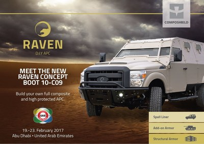 Raven defense vehicle to be unveiled at IDEX 2017
