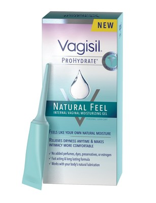 Vagisil's Prohydrate Natural Feel Moisturizing Gel