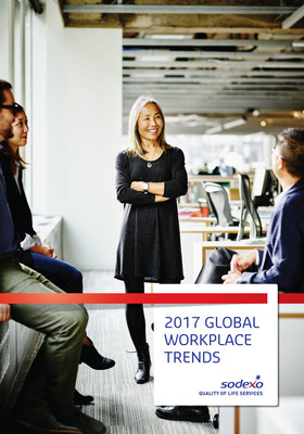 Sodexo launces the 2017 Global Workplace Trends Report today, February 9, 2017.