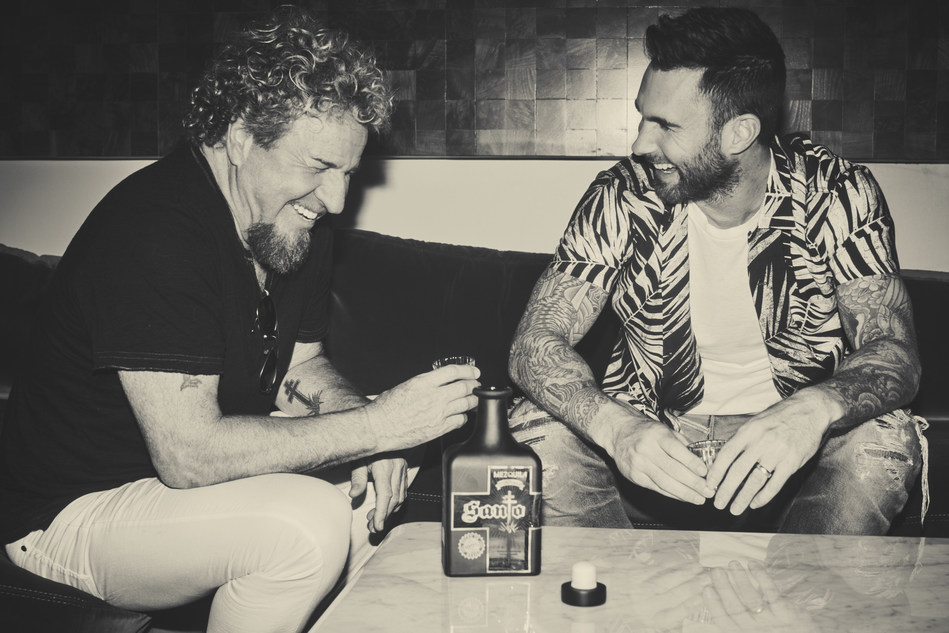 Santo Mezquila co-founders Sammy Hagar and Adam Levine