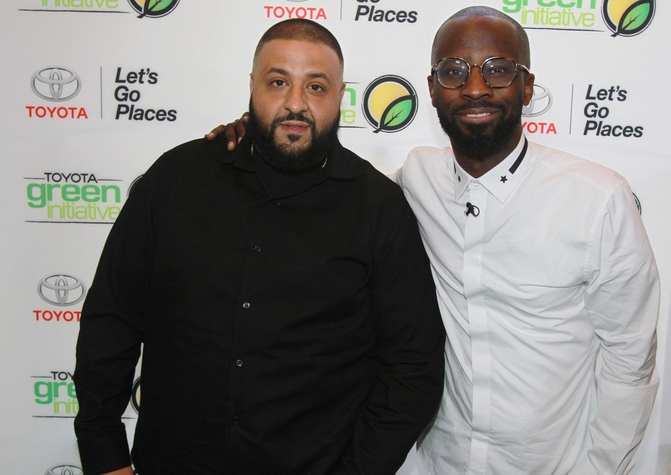 Past honoree, DJ Khaled, and acclaimed producer, Bryan-Michael Cox, at the 2016 Breakfast Club brunch. Created by Cox over a decade ago, the brunch honors songwriters, producers, and other behind-the-scenes music heavyweights for their contribution to the industry. The 2017 event will be powered by Toyota under the brand's Music platform, which was created to connect audiences with emerging artists in the celebration of music.